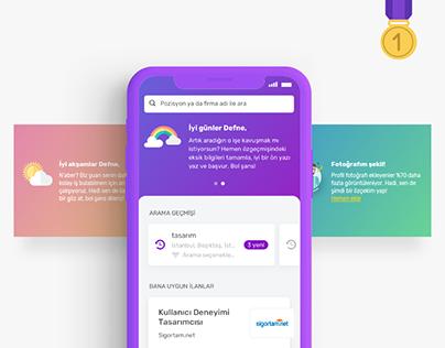 Job Search App - Kariyer.net