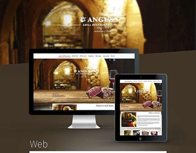Angus Grill Restaurant Web, Print