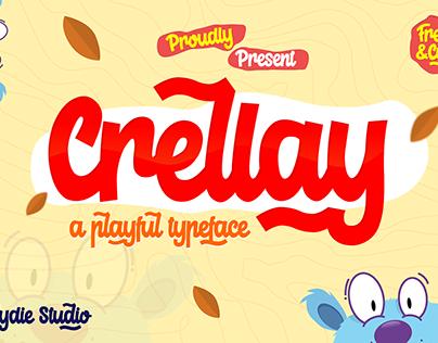 Crellay - A Playful Typeface - FREE FONT