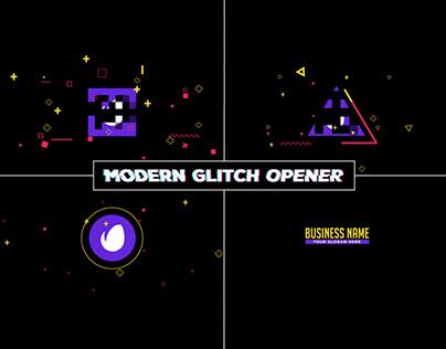 Modern Glitch Opener