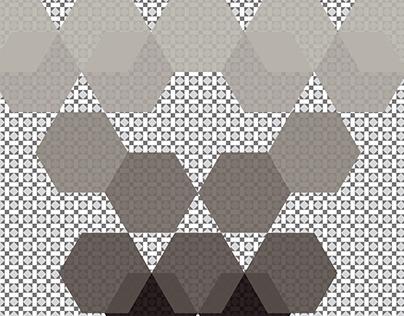 Hexagons1 Color