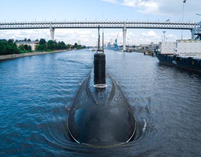 """Submarine """"Petropavlovsk-Kamchatskiy"""""""