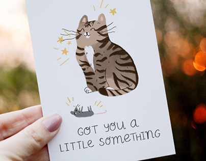 Father's Day Cards part two - cats!