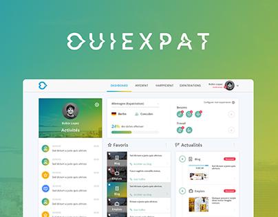 OUIEXPAT - UX/UI