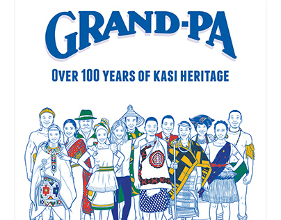 Heritage day print ad campaign - GSK
