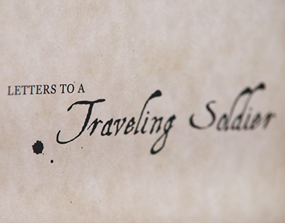 Letters To A Traveling Soldier: Concertina Book