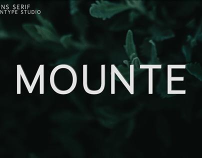Mounte Sans Serif