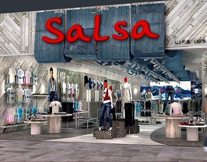 Salsa Jeans Retail Store Concept 2016