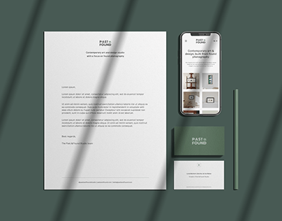 Past & Found Studio | Branding