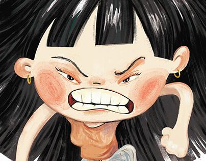 Illustrations for Comic book. www.buudabomb.com