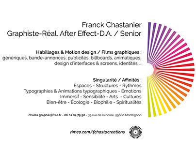 Design graphique & After Effect Book