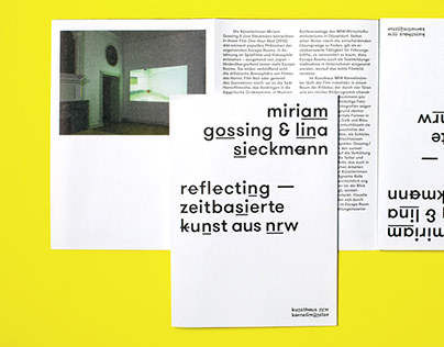 Vorgang I – Exhibition Catalogue