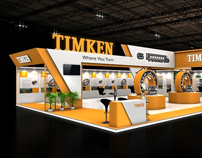 Timken 140 sqmtr. 2 side open stall design