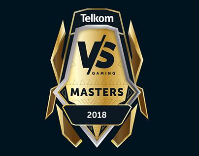 VS Gaming Masters 2018 Logo Design