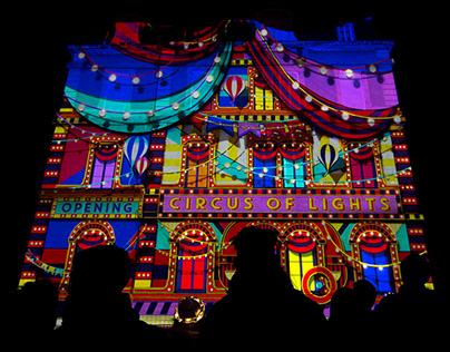 Circus of Lights - Fête des Lumières de Lyon