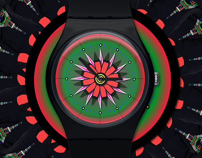 Smartwatch UI theme with KENZO