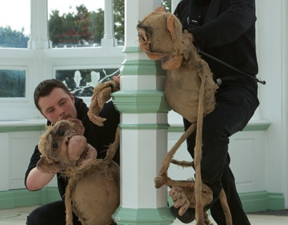 The Cheeky Chimps by VIP Puppets and Claire Stringer
