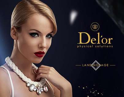 Del'or  cosmetics [ Landing Page ]