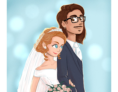 Commissions for wedding portraits