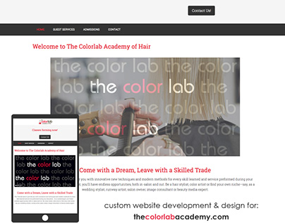 Beauty School Website