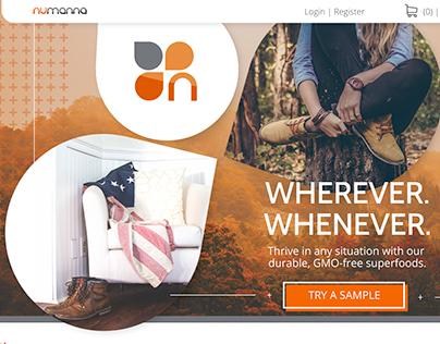 NuManna Website