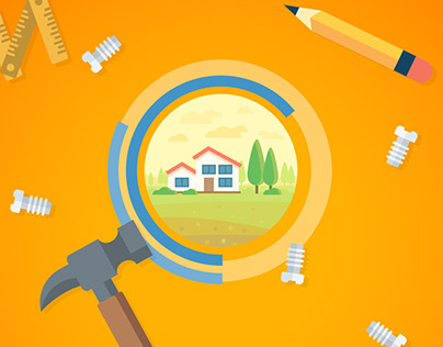 Infographics design: personal home renovation costs