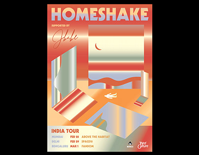Homeshake India Tour
