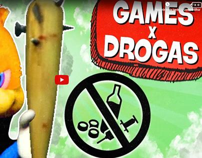 5 EFEITOS DE DROGAS NOS GAMES! 😮💉