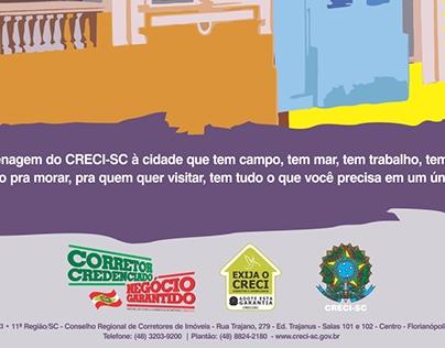 Anúncios Institucionais CRECI/SC