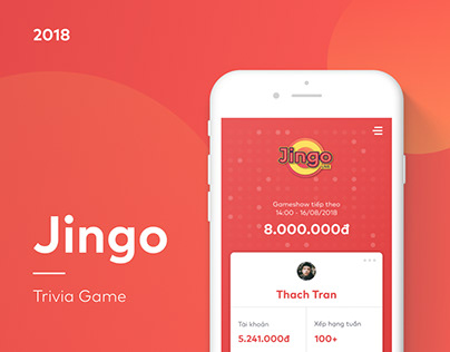 Jingo Live - Livestream Trivia Game Application