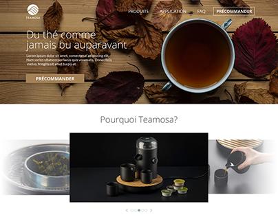 Teamosa   Refonte de site web