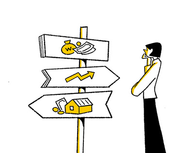 Illustrations for financial counseling