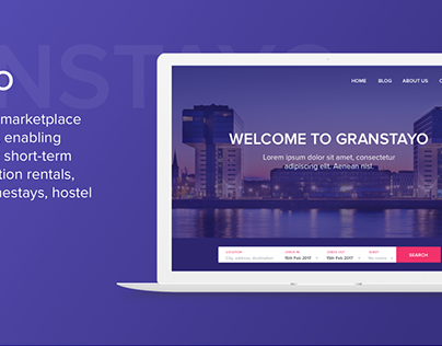 Granstayo - Web design