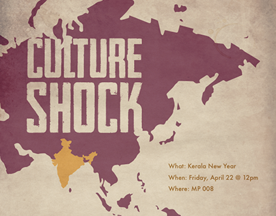 Culture Shock Posters