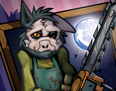 Big Bad Wolf in Motel Hell