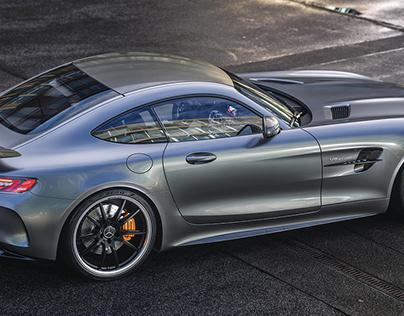 """Silver Arrow"" - Mercedes AMG GTR"