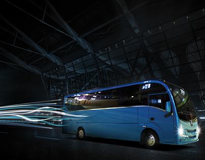 ADL Plaxton Bus and Coach Cheetah XL Coach Launch