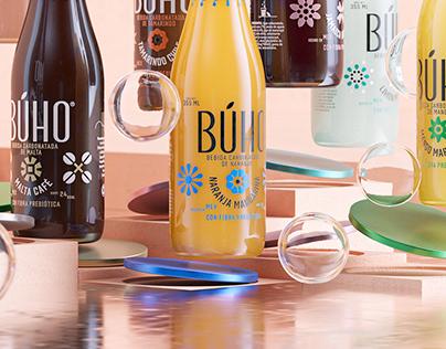 BÚHO SODA • Key Visuals