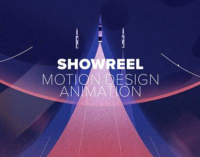 Motion Design Animation / Showreel