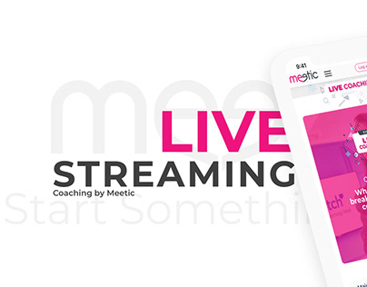 Live streaming by Meetic