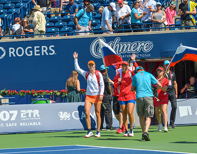 WTA Rogers Cup Doubles Final