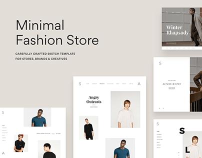 Minimal Store Template