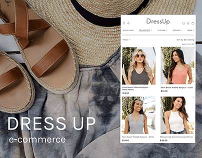 Dress Up | E-Commerce redesign concept