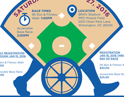 Miracle League - Miracles In Motion Flyer