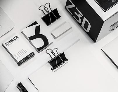 FORMALIZ3D Brand Identity