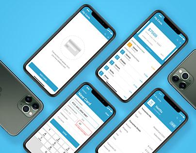 UX/UI Finance App Concept