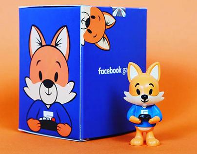 Facebook Gaming Fox Mascot