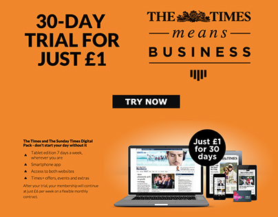 The Times Means Business campaign
