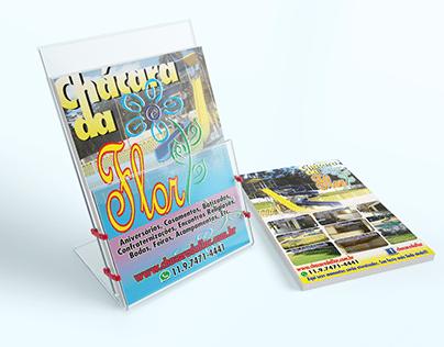 Flyer para Chácara de Eventos e Festas