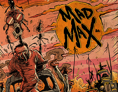 MAD MAX Tribute Artwork